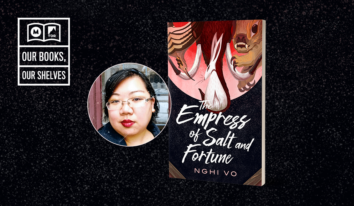 Nghi Vo and her novel Empress of Salt and Fortune
