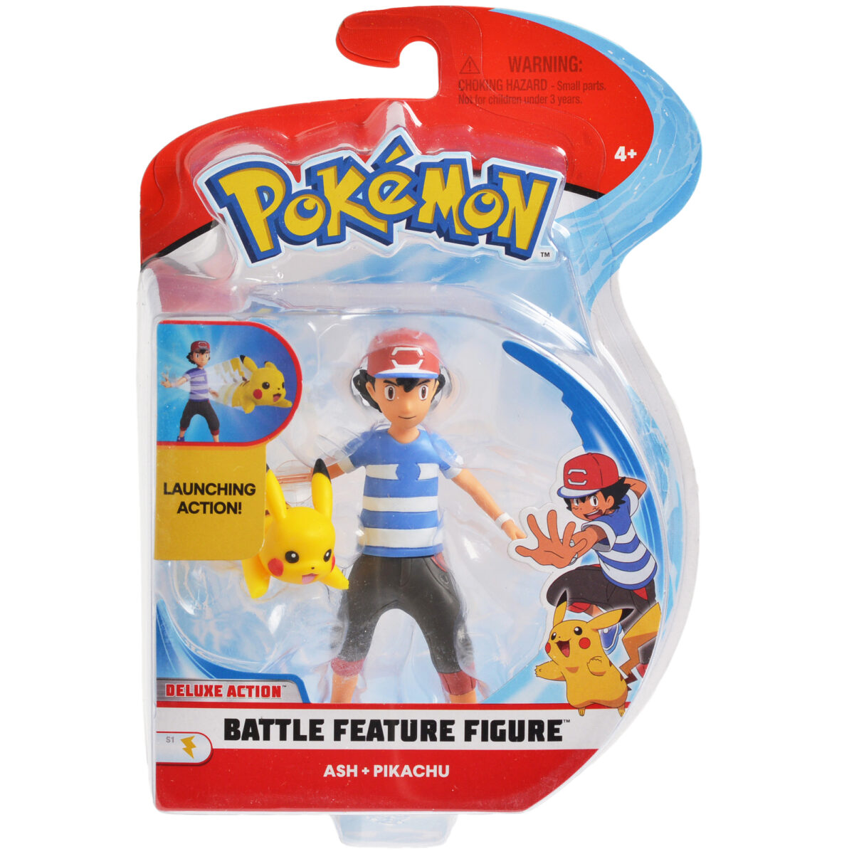Figure of Ash and Pikachu
