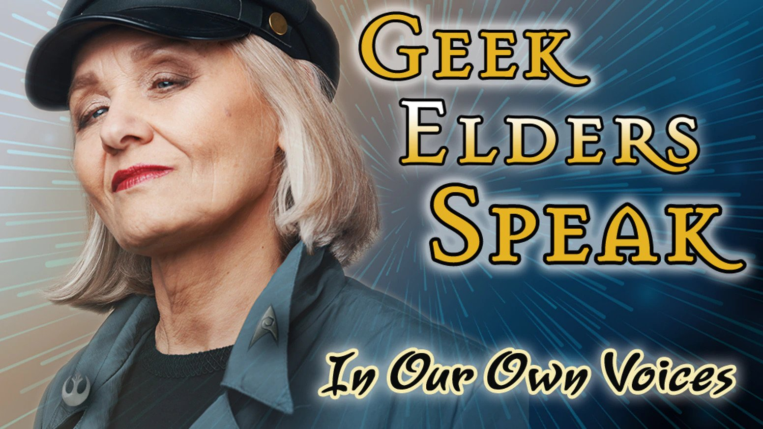 Book cover for Geek Elders Speak: In Our Own Way by Forest Path Books
