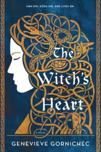 Book cover for The Witch's Heart by Genevieve Gornichec