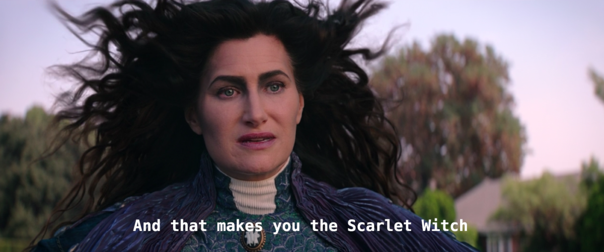 Agatha Harkness scarlet witch