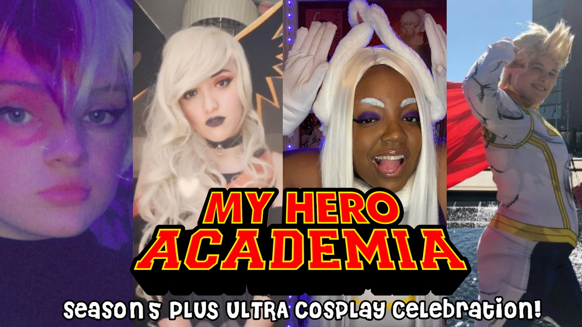 My Hero Academia cosplay by gracie (rei), Friday, Kam, and Meliamor1412