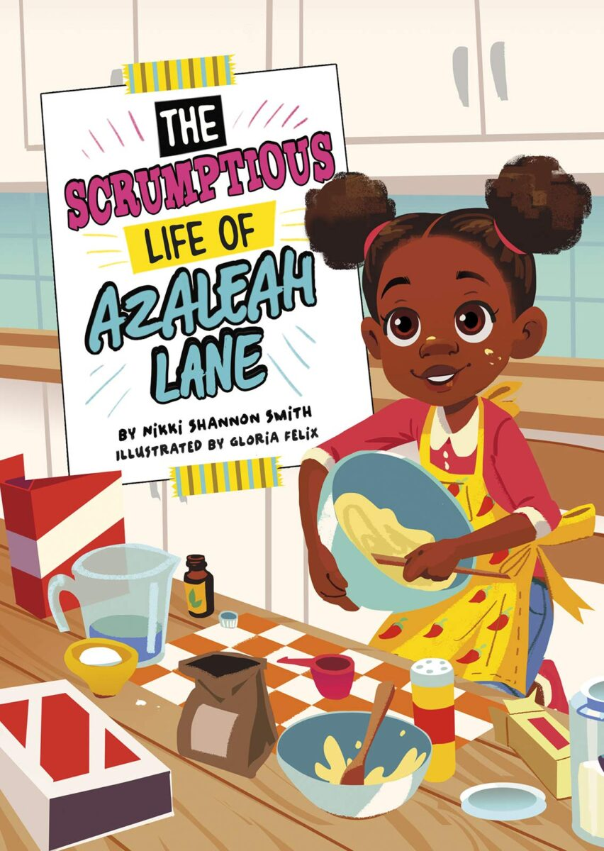 Book cover for The Scrumptious Life of Azeleah Lane by Nikki Shannon Smith