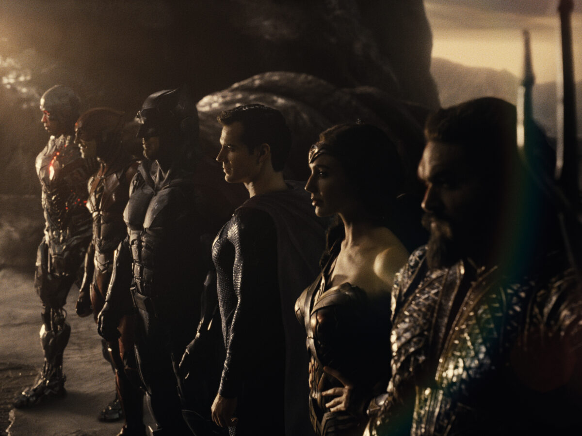 publicity still from zack snyder's justice league