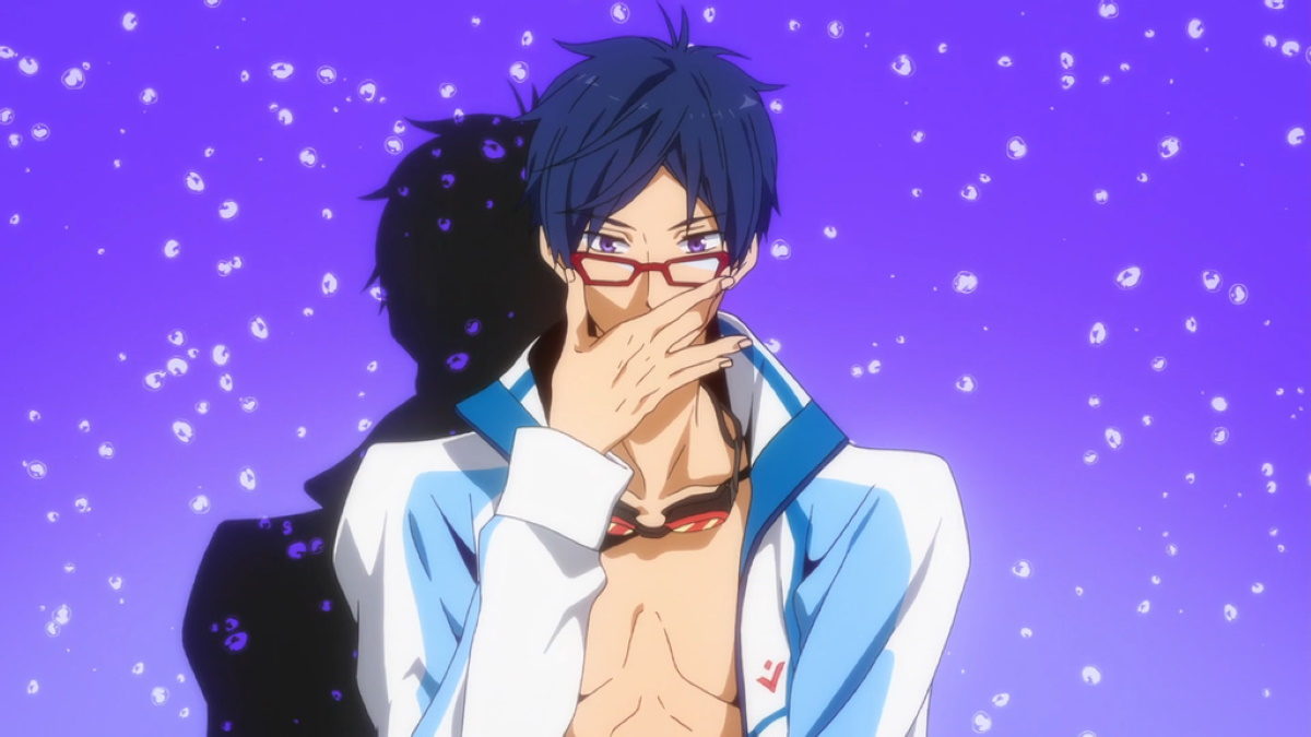 Rei and his glasses