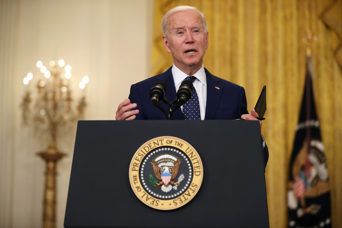 Biden Promises (Again) to Raise the Refugee Cap After Getting Pummeled by Progressives on Twitter
