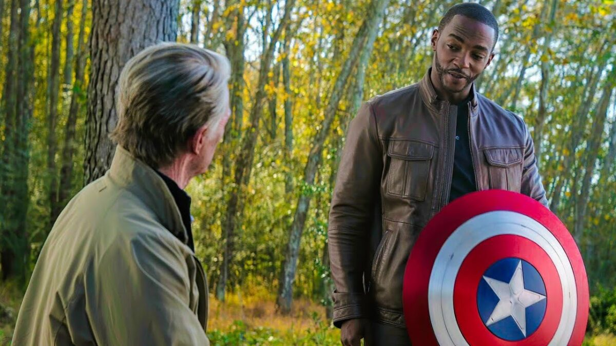 Sam Wilson and the shield