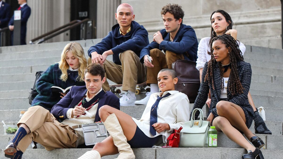 The cast of Gossip Girl on HBO Max