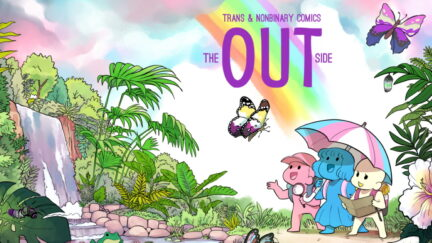 The Out Side Kickstarter cover