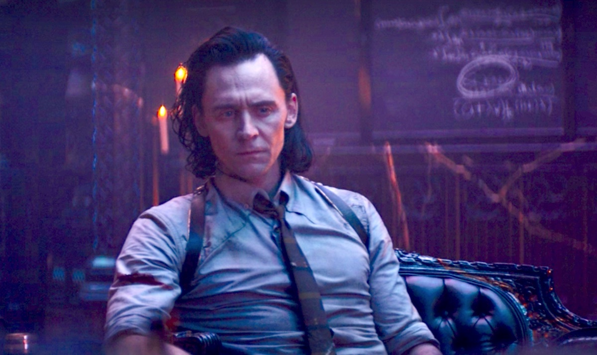Tom Hiddleston as Loki in the Citadel at the End of Time