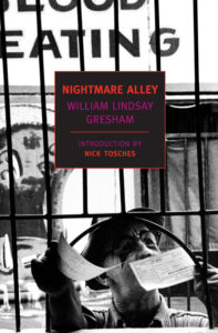 """""""Nightmare Alley"""" by William Lindsay Gresham cover set at a carnival. (Image: Naxos)"""