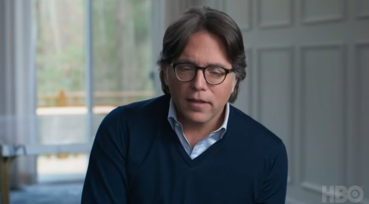 NXIVM leader Keith Raniere pretending to be a human being and that this cult is actually worth a damn