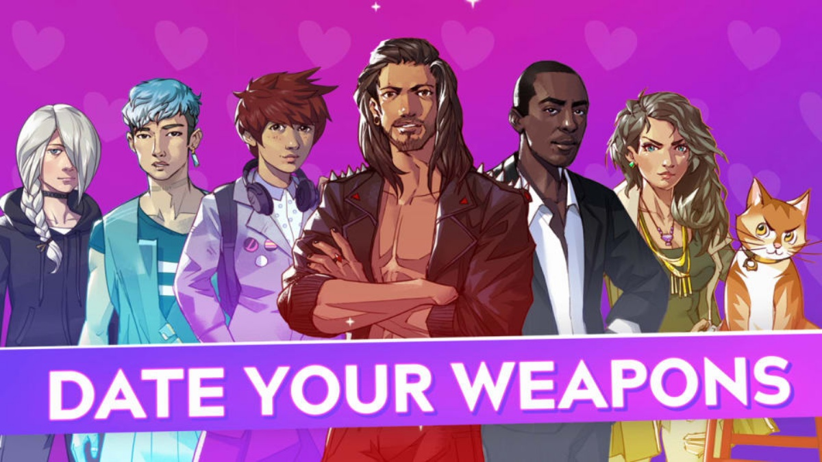 the many people you can date in the boyfriend dungeon game