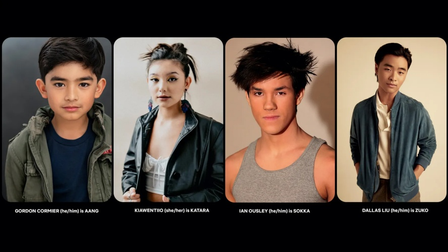 avatar cast for live action series