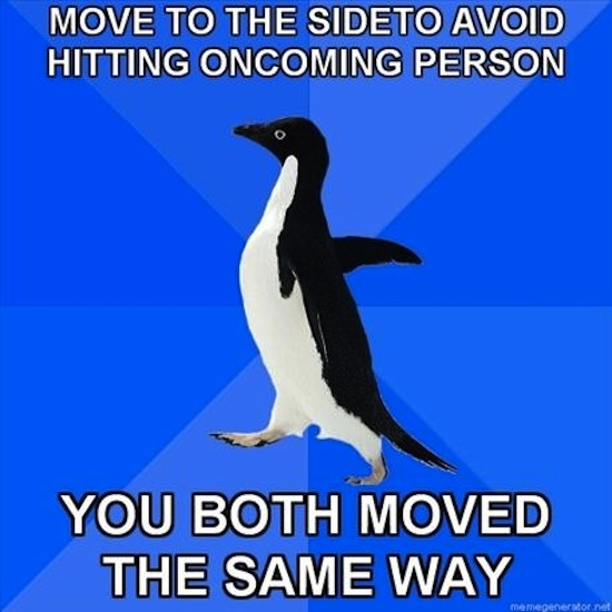 Moved The Same Way